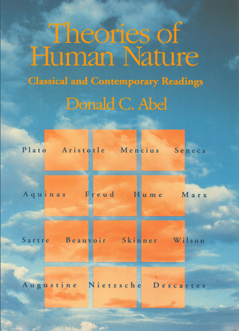 Theories of Human Nature by Donald C. Abel