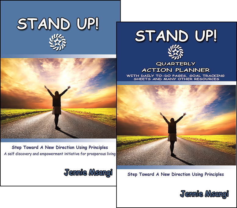 STAND UP! Action Pack by Jennie Msangi