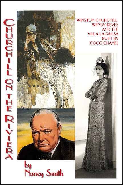 Churchill On The Riviera by Nancy Smith