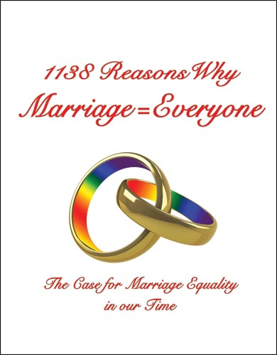 1138 Reasons Why Marriage = Everyone by Byron & Mariah Edgington