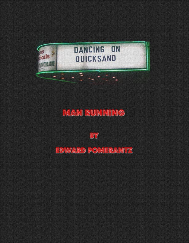 MAN RUNNING by Edward Pomerantz