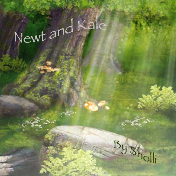 Newt and Kale--Sholli