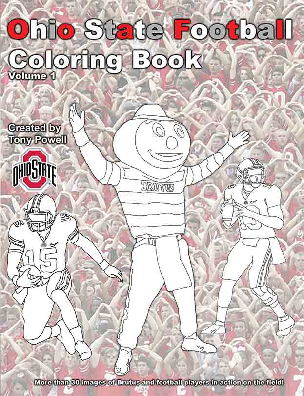 Ohio State Football Coloring Pages Coloring Pages