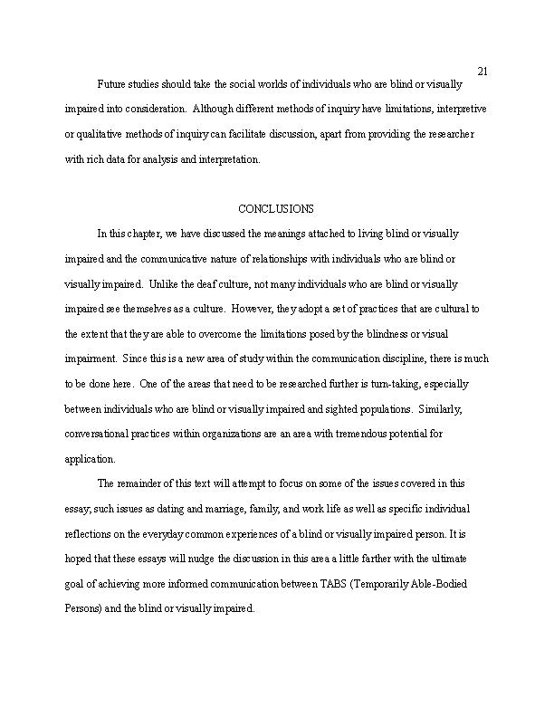 English Essay Topics For Students Essays On Communication And The Blind  Visually Impairedsmith View Low  Resolution Preview Essays On Health Care also History Of English Essay Essays On Communication And The Blind  Visually Impairedsmith  Proposal Essay Topic Ideas