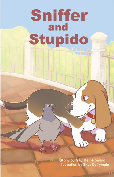 Sniffer and Stupido by Gay Dell-Howard