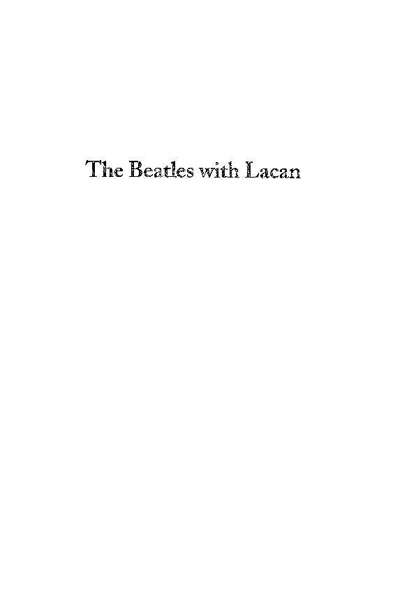 The beatles with lacan by henry sullivan biblio bookstore books the beatles with lacan by henry sullivan view low resolution preview fandeluxe Image collections