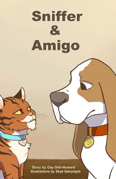 Sniffer and Amigo by Gay Dell-Howard